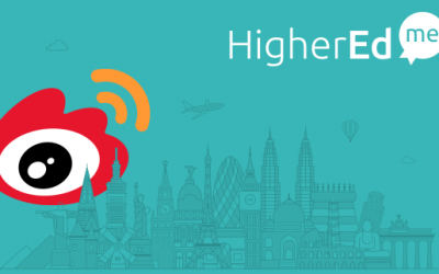 Why HigherEdMe chooses Weibo to contact students?